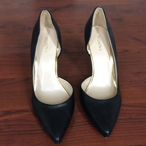 NWOT. Merona: black heels